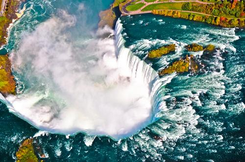 【北美】尼亚加拉瀑布海陆空两天深度游(多伦多-尼亚加拉瀑布–瀑布小镇)